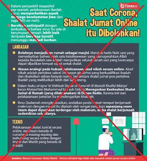 Shalat Berjamaah Online - Artikel Kajian Islam Tarakan