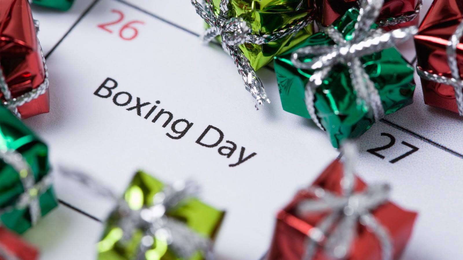 Boxing Day Wishes Unique Image