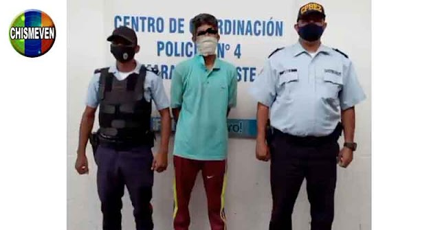 Chavista detenido por tratar de quemar viva a toda su familia