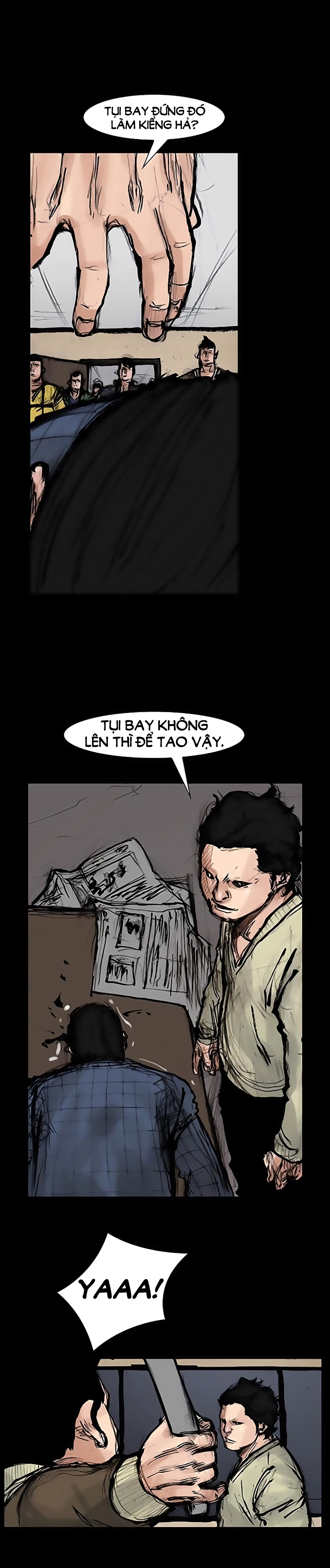 Máu Nhuốm Giang Hồ | Blood Rain chap 37 - Trang 3