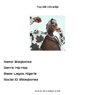 Blaqbonez | Top 20 on Diva9ja