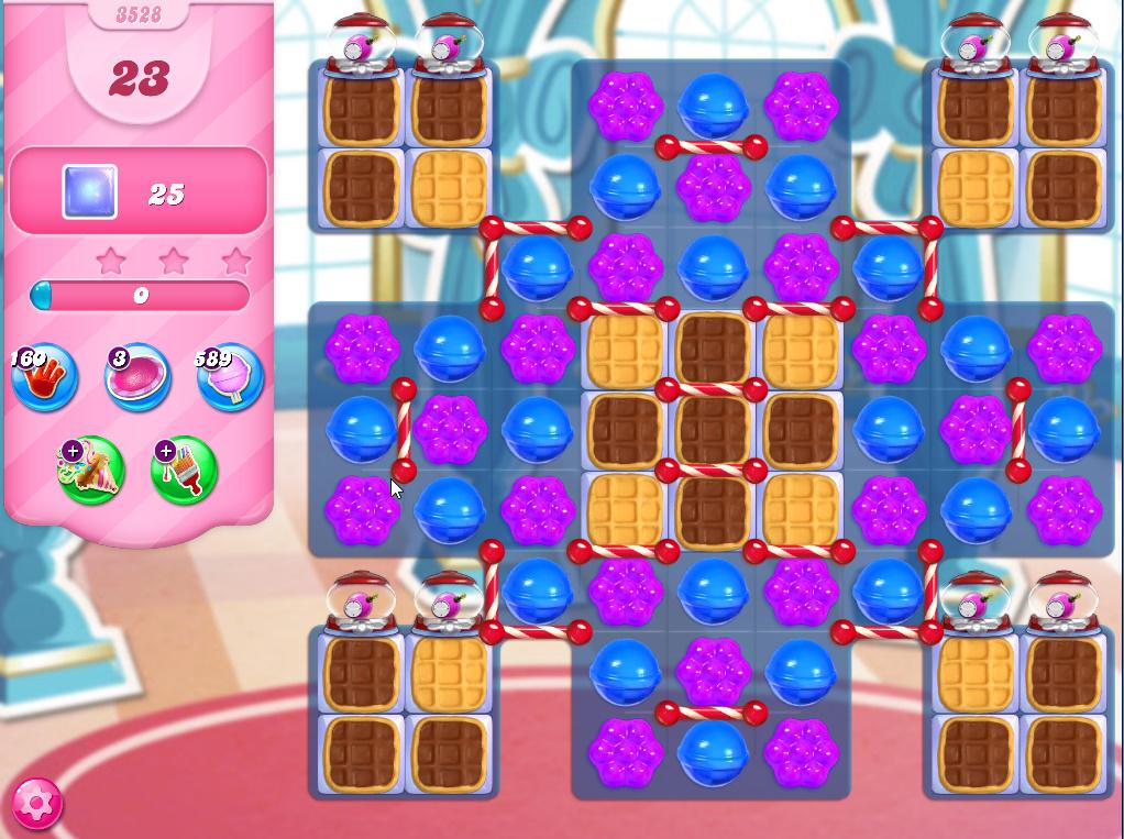 Candy Crush Saga level 3528