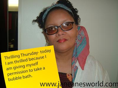 Thrilling Thursday, permission, bubble bath