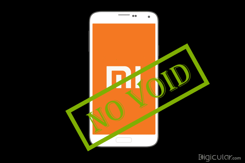 No warranty void on rooting Xiaomi smartphone