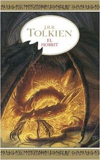 portada de El Hobbit de Tolkien