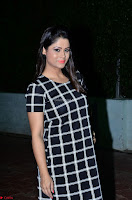 Shilpa Chakravarthy in Dark blue short tight dress At Srivalli Movie Pre Release Event ~  Exclusive Celebrities Galleries 078.JPG
