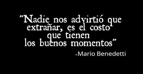 """""""Hagamos un trato"""", un hermoso poema de Mario Benedetti que vale la pena leer"""