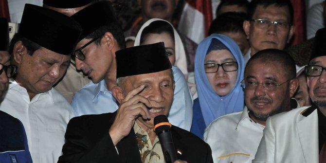 Prabowo Bertemu Jokowi Tidak Diketahui Oleh Amien Rais
