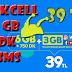 Turkcell 6+3 GB 750 DK 250 SMS 39 TL (Faturalı)