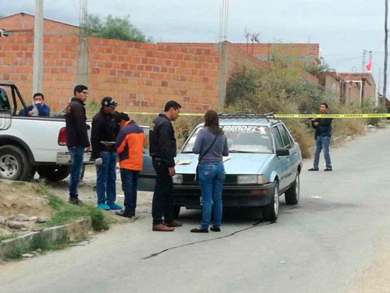 Conductor de taxi fue asesinado a puñaladas en el Barrio San Jorge I