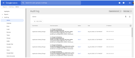 Updated interface for managing Google Groups in the Admin console 2