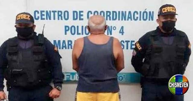 Hombre detenido por caerle a piña a su mujer al encontrarlo en casa con la amante