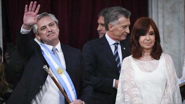Alberto Fernández juramenta como nuevo presidente de Argentina