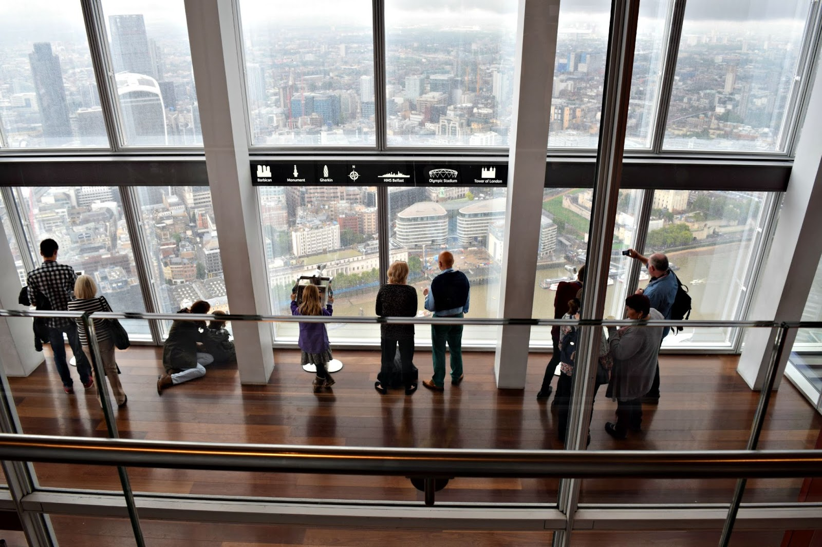 the viewing platform the shard