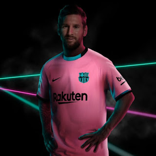قميص برشلونة الجديد الخاص بالموسم الثالث 2021