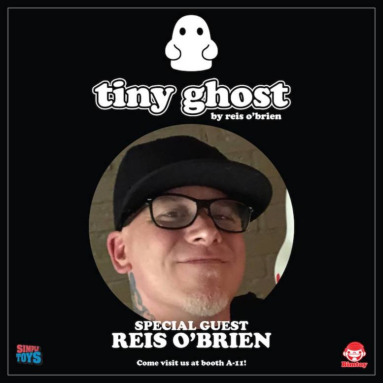 Tiny ghost bimtoy bomb pop rocket Brian Reis