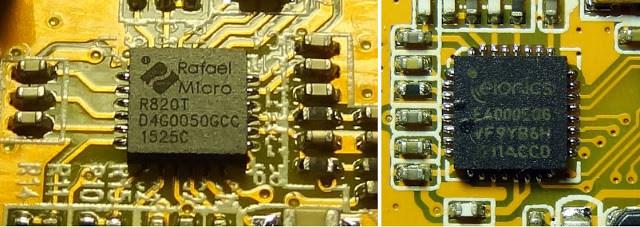 R820T vs  E4000
