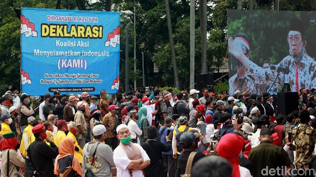 Rencana Deklarasi KAMI di Riau Ditolak Aliansi Pemuda Cinta Damai