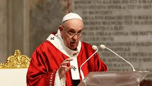 """El Papa Francisco expresó: """"El mercado solo no resuelve todo, aunque otra vez nos quieran hacer creer este dogma de fe neoliberal"""""""