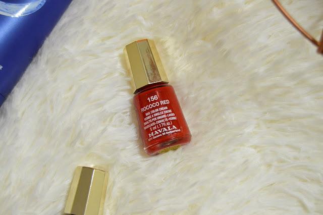 Mavala Rococo Red Nail Polish