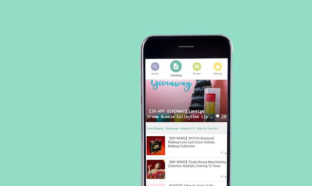 Cosmetics Review Dan Ranking App @Cosme Kini Di Malaysia