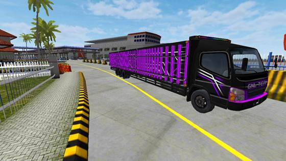 Mod Truck Canter Bak Tribal Long Chassis
