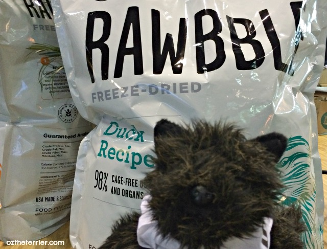 New Rawbble freeze dried dog food by BIXBI