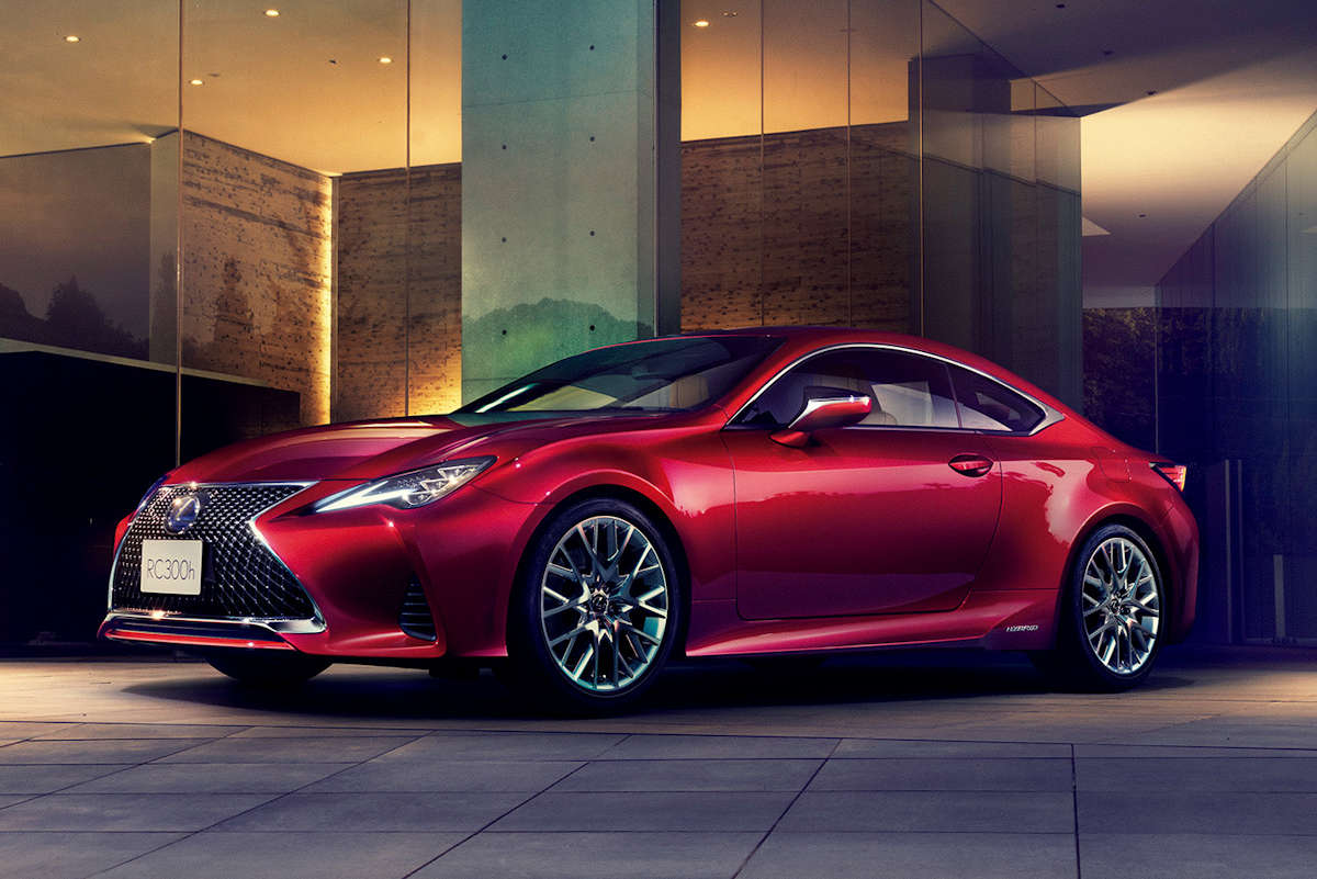 Lexus Is Giving Its RC Sports Coupe A Makeover That Sharpens Its Looks And  Driving Dynamics While Retaining All The Of Virtues Of The Current Model.