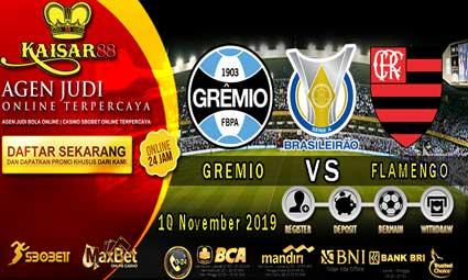 PREDIKSI BOLA TERPERCAYA GREMIO VS FLAMENGO 18 NOVEMBER 2019