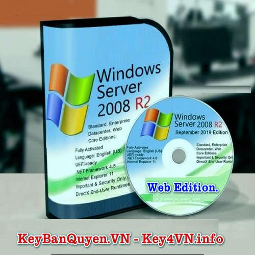 Mua bán key bản quyền Windows Server 2008 R2 Web .