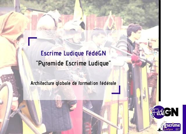 Architecture de formation fédérale Escrime Ludique FédéGN