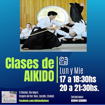 Aikido Bolson y Aikido Epuyén