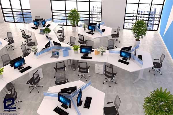 Module bàn làm việc khiến căn phòng trở nên rộng rãi hơn