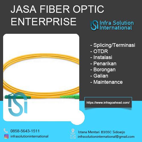 Jasa Splicing Fiber Optic Pacitan Enterprise