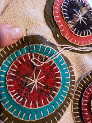 stitching a stack