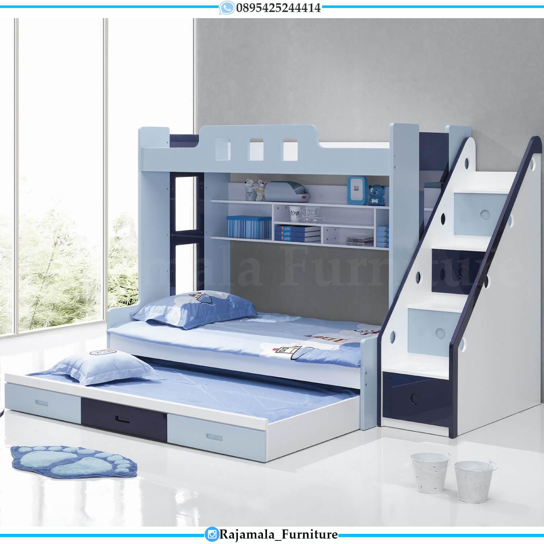 Tempat Tidur Tingkat Anak Playful Minimalis Modern Design Rm 0429 Rajamala Furniture Tempat tidur tingkat untuk anak