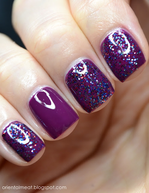 Catrice-Just Berried! & Claire's-Galactic