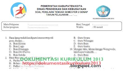 Soal Pts Uts Aqidah Akhlak Kelas 7 Semester 2 Kurikulum 2013 Revisi 2020