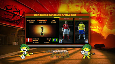 PES 2010 South Africa 2010 Mod v1.0 + Update 1.1 by ModdingWay