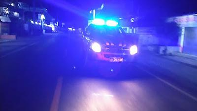 Akhir Pekan, Polsek Pringgabaya Lakukan Patroli Blue Light dan Stationer