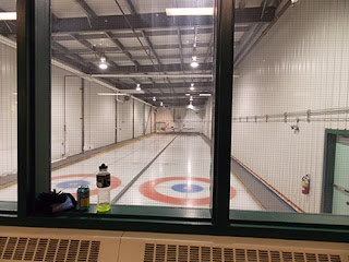 Curling rink in Dawson City, Yukon