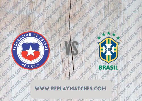Chile vs Brazil -Highlights 03 September 2021