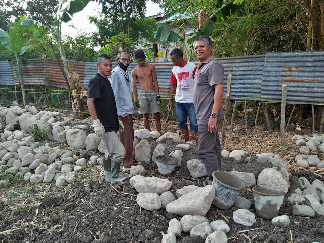 Peletakan Batu Pertama Pembangunan Dua Gedung Baru SMA 7 September 99 Atambua