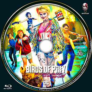 Caratulas Mountain Birds Of Prey And The Fantabulous Emancipation Of The One Harley Quinn 2019 Blu Ray Cover