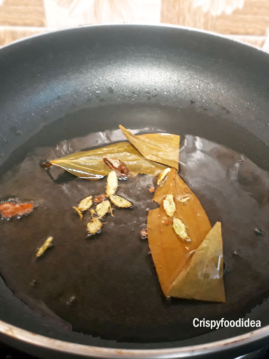 Add dry ingredients of Aloo Matar