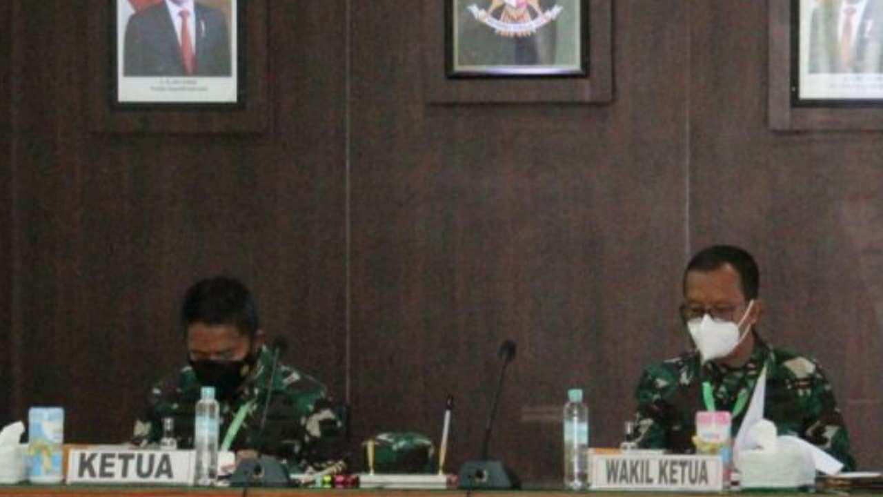 Sidang Pantukhir Calon Bintara Prajurit Karier TNI AD Tahun 2021 di Mako Rindam I/BB