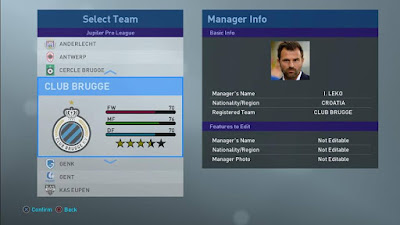 PES 2019 Real Manager Photos PES 2019 by Zenin Rohman