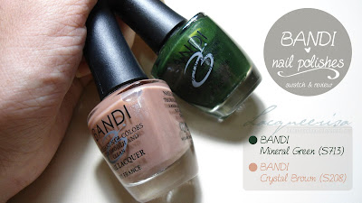 BANDI Nail Polishes, Review/Swatch