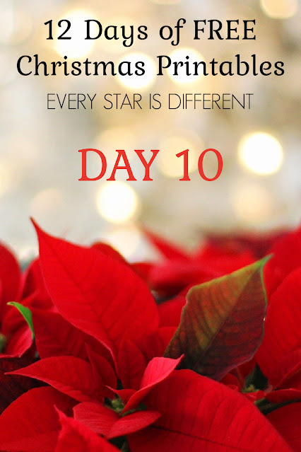 How to Reduce Fractions Visual (12 Days of FREE Christmas Printables)