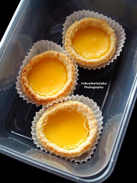 Baked China Treasures Mini Egg Tart